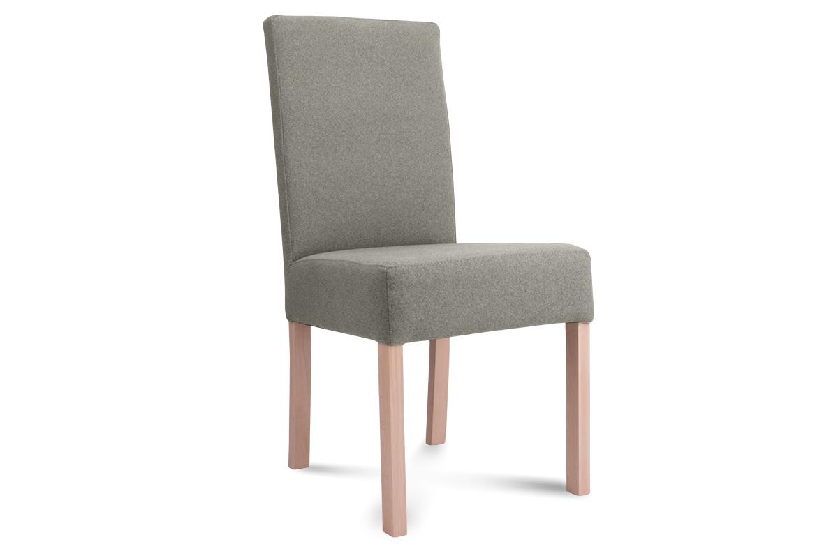 Krzesło GAROS brązowy/buk