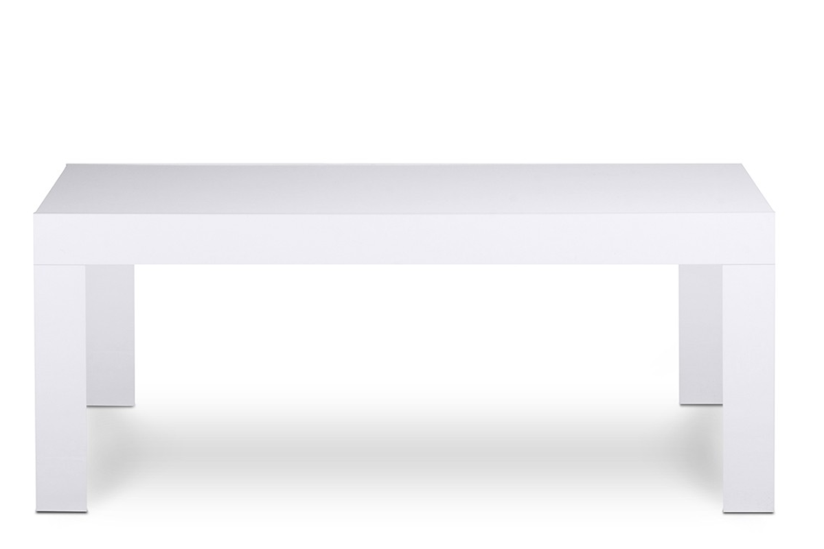 Stolik kawowy EMPROS biały połysk